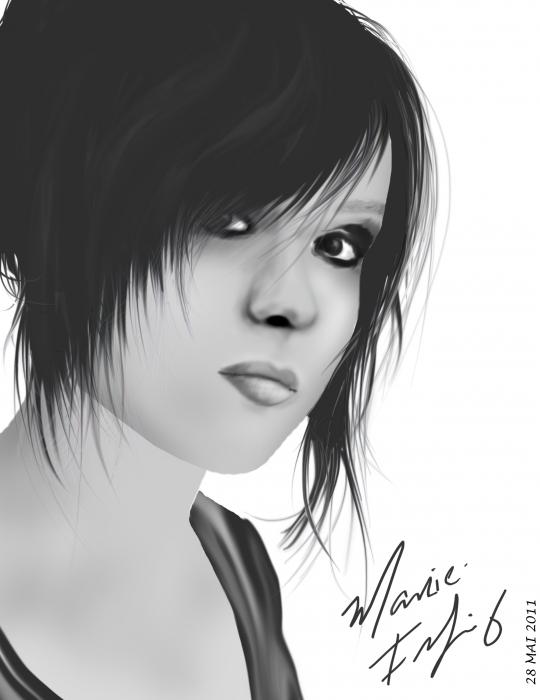 Ellen Page by marie.felix